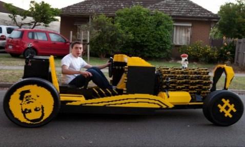 Working Lego Car