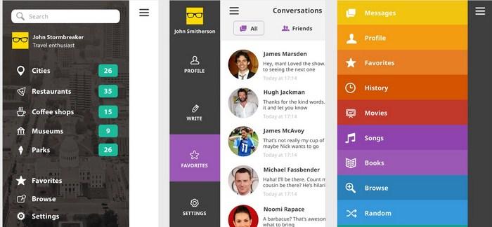 Ace iOS 8 Mobile UI Kit
