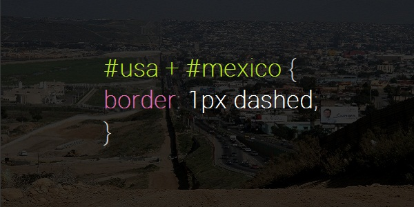 Mexico USA Border
