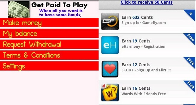 Get Paid to Play