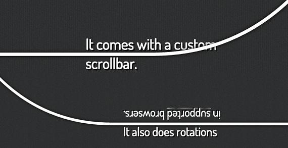 Scroll Path