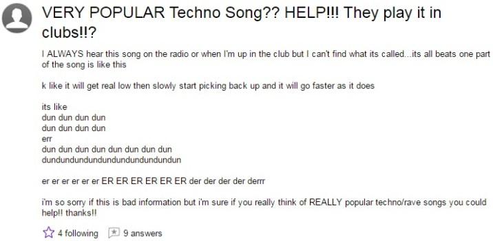 Techno Song