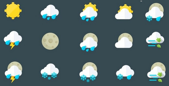 Free Icon Sets - Weather
