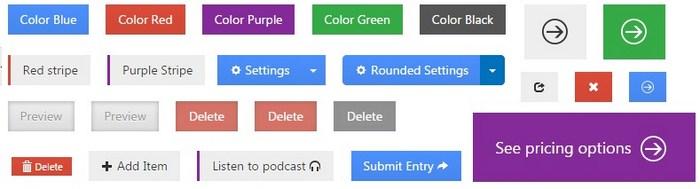 CSS3Microsoft Button Design