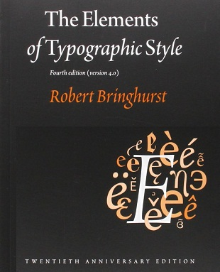 The Elements of Typographic Style