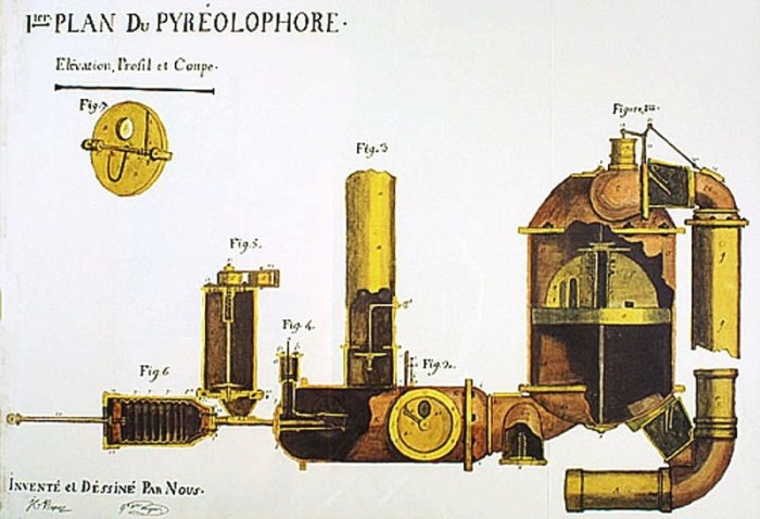 first Internal combustion engine