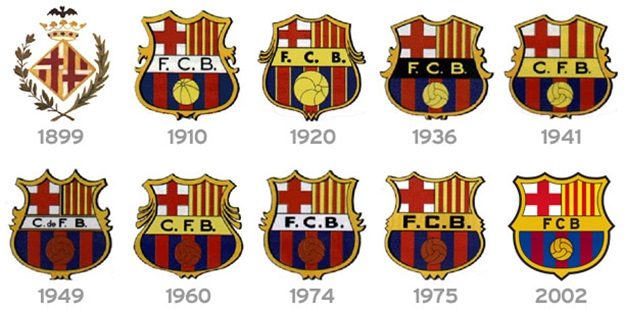 logo evolution of biggest football clubs in the world rankred logo evolution of biggest football