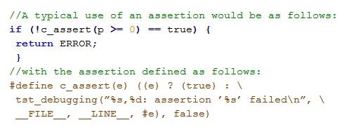 Low Assertion Density