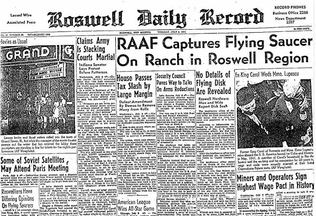 UFO at Roswell