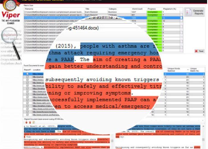 viper plagiarism checker online
