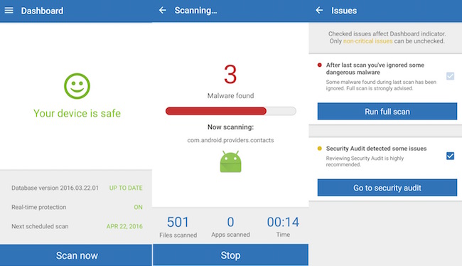 20 Best Free Antivirus and Anti-malware Android Apps - RankRed