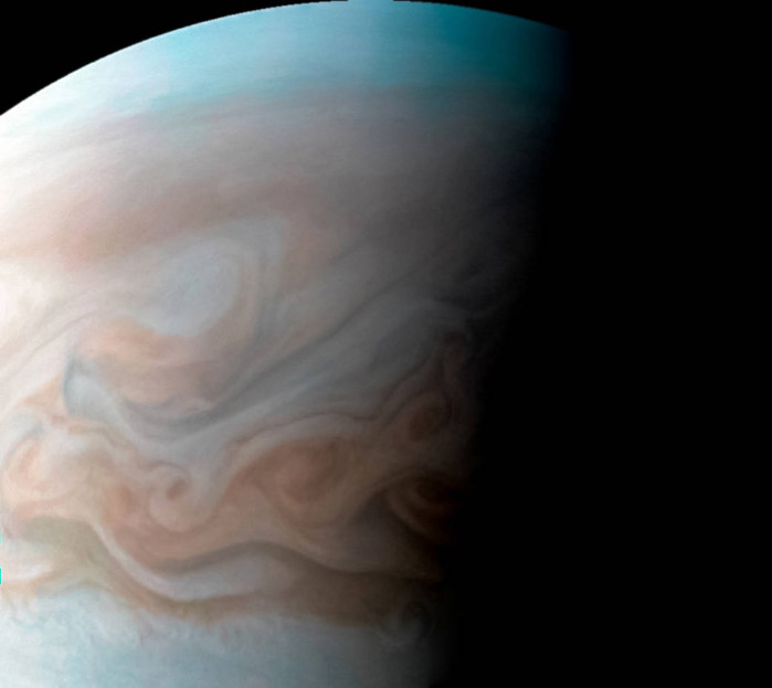 Jupiter Cloudscape in High Resolution