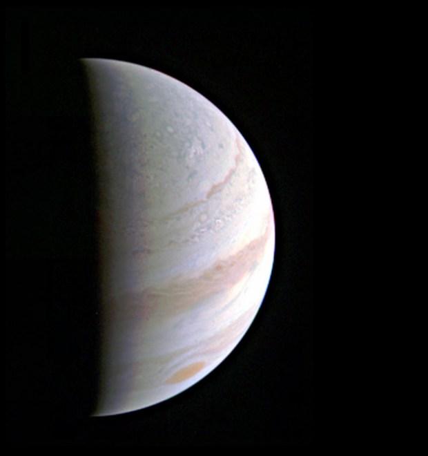 Jupiter from 437,000 Miles