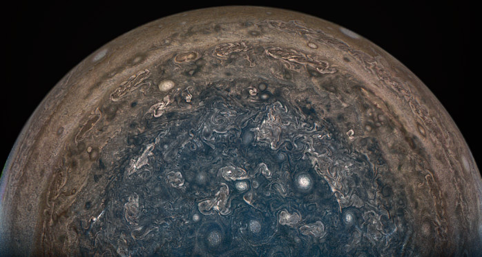 Stormy Weather on Jupiter