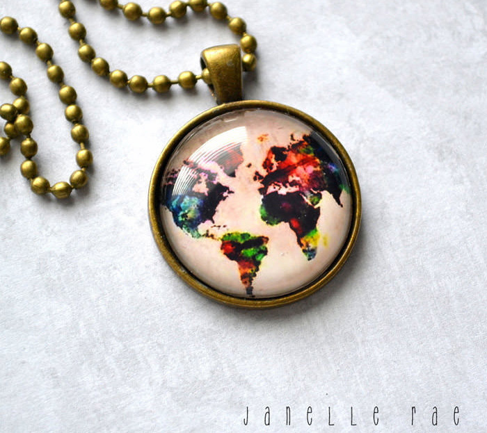 necklace map