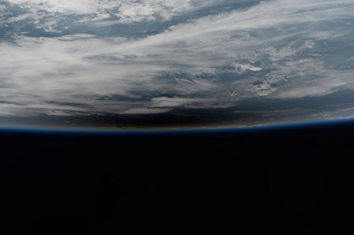 eclipse from space station