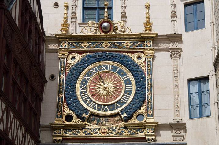 Gros Horloge astronomical clock