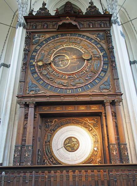 Rostock clock