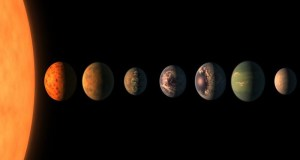 Water in TRAPPIST-1 System
