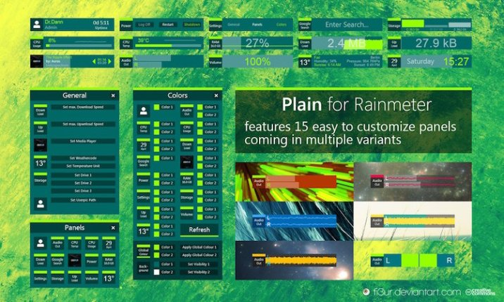 Rainmeter Themes 2019