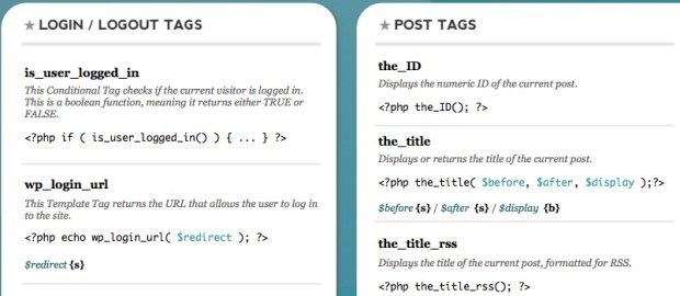 Wordpress Template Tags Cheat Sheet Pdf | 18 Useful Css Cheat Sheets Of 2018 With New Css3 Tags Rankred