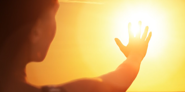 Berat sinar matahari