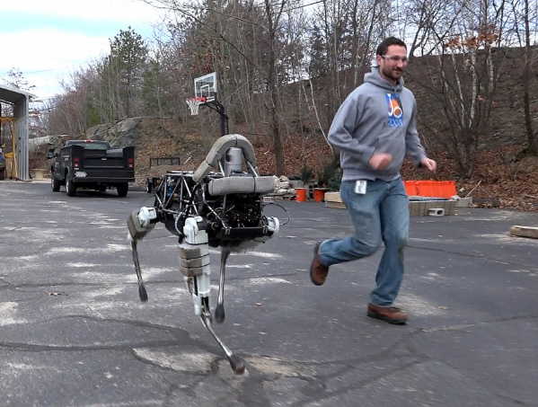 Quadrupedal robots