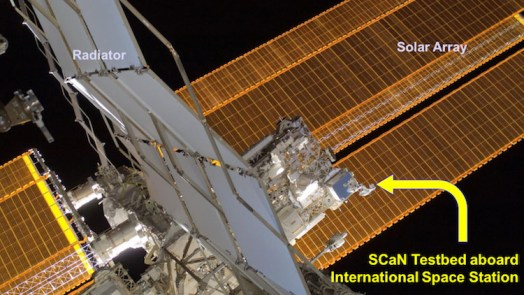 SCaN Testbed on ISS