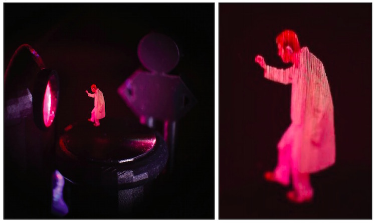 The Latest 3D Projection In THIN AIR | A Better Hologram Alternative