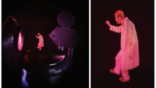 3D Projection In THIN AIR