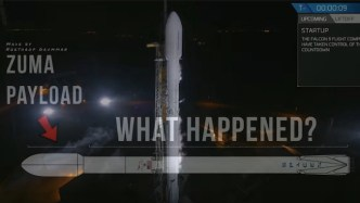 SpaceX's Secret Mission Zuma