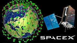 SpaceX Internet Satellites