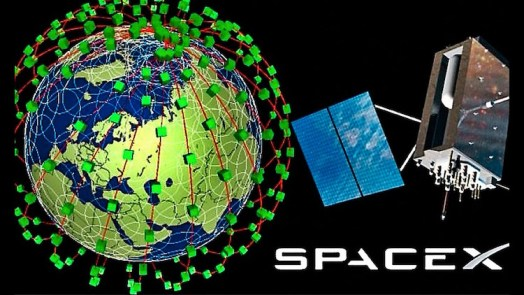 SpaceX Internet Satellites
