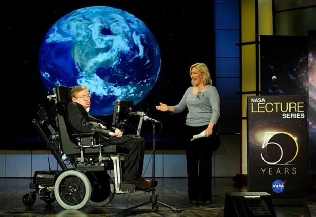 Stephen Hawking in 2008