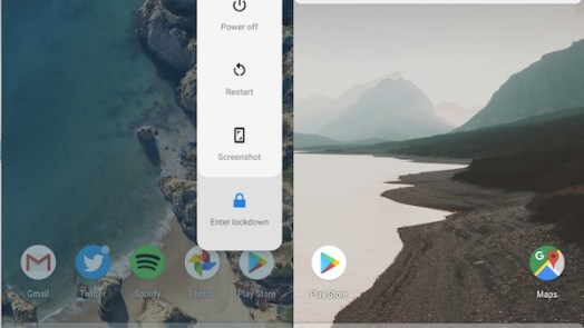 Easy Screenshot AndLockDown Mode