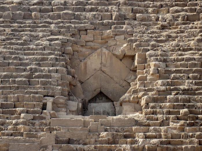 Pyramid of Khufu entrance