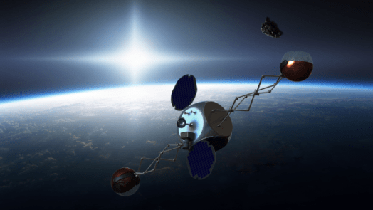 Sling Sat removing space junk