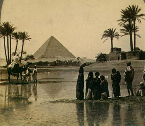 the great pyramid from 19th century