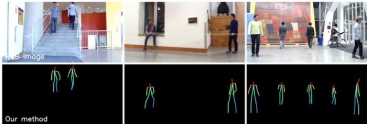 AI sees humans through walls using radio signals