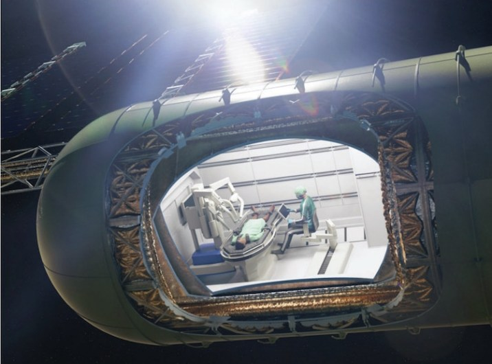 Human Surgery In Space