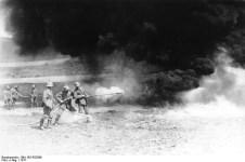 German flamethrowers