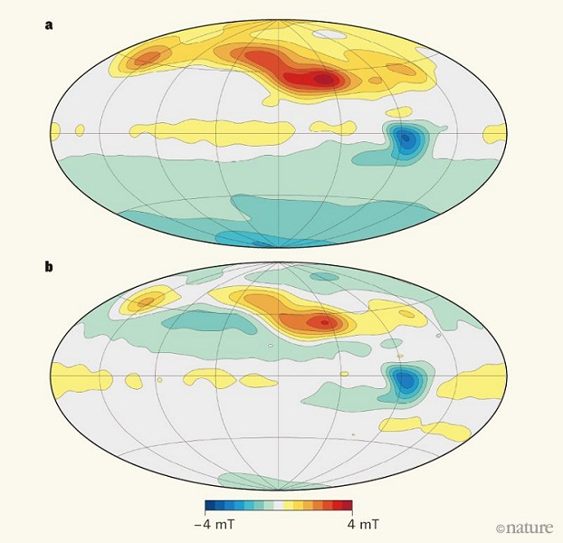 dipolar and non-dipolar magnetic field of Jupiter