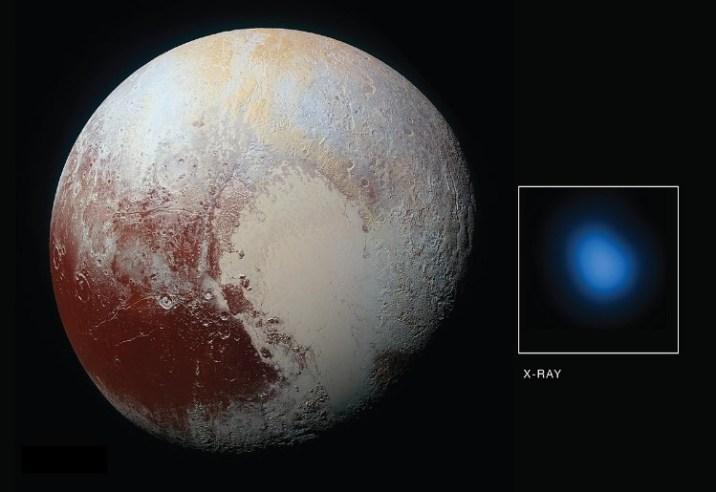 Pluto is X-rays