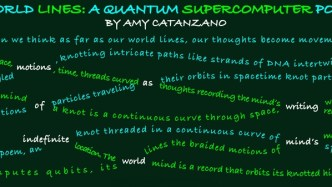 Quantum Physics Through Poetry