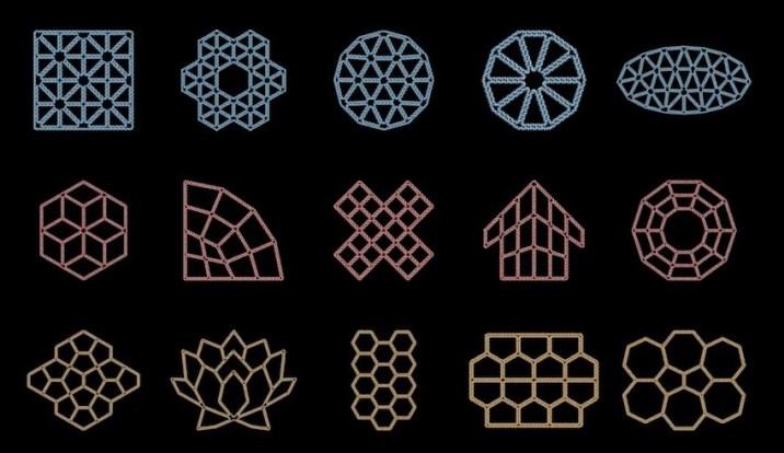 PERDIX 2D dna structures