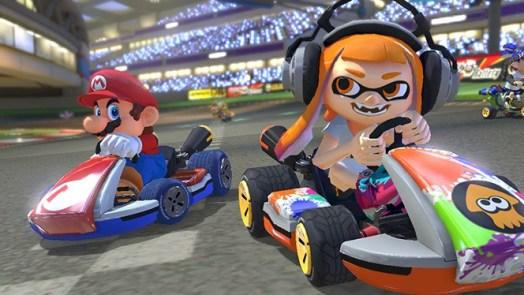 Mario Kart 8 Deluxe - best Nintendo Switch games