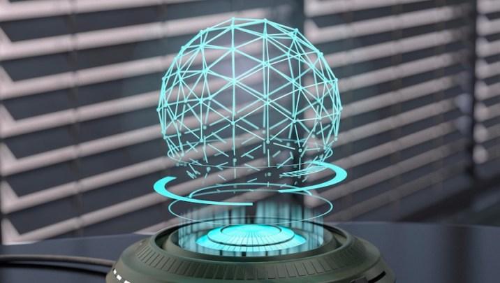 new holographic method