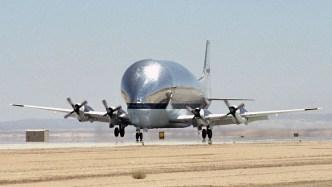 Supper Guppy - biggest airplanes