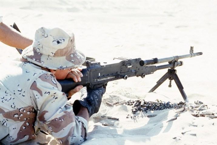 L7A2 machine gun