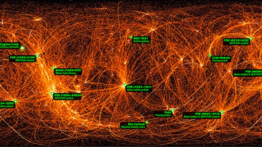 X-Ray Map Of The Entire Night Sky